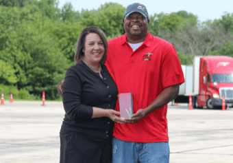 driver of the year - Montrell Edwards
